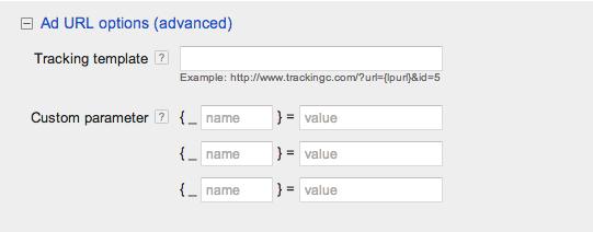 plantilla de tracking Adwords