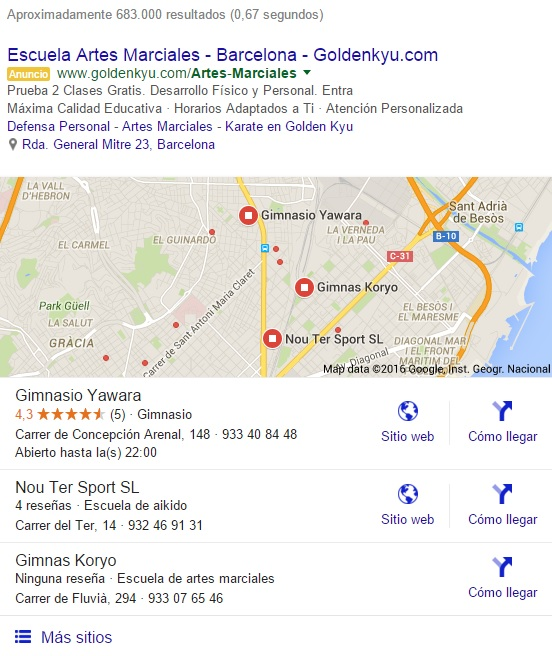 SEO_local_gimnasios